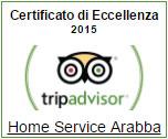 certificato di eccelenza tripadvisor 2015