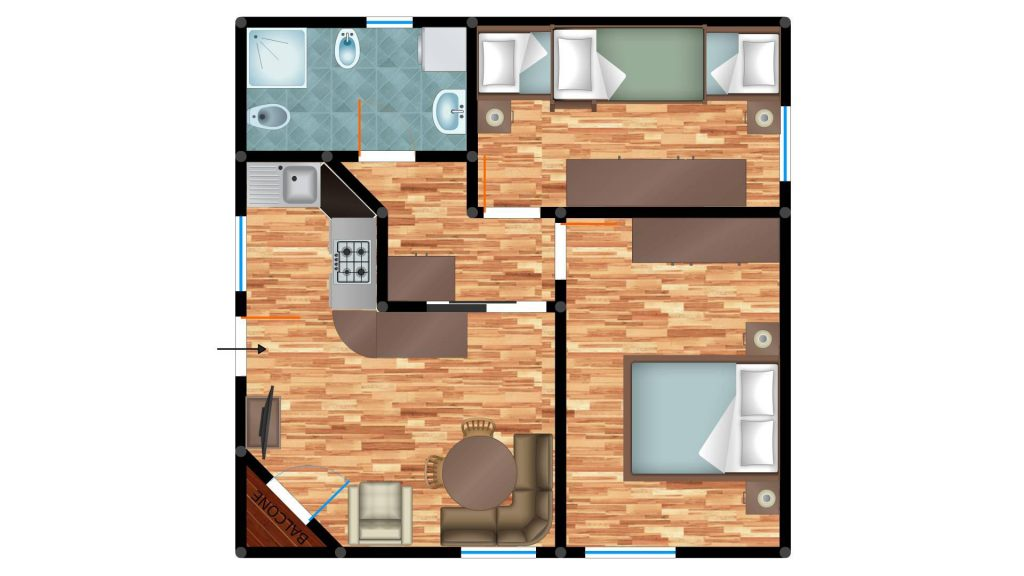 appartamenti arabba